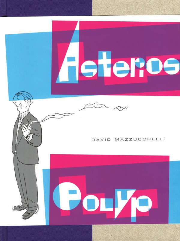 Asterios Polyp forside cover