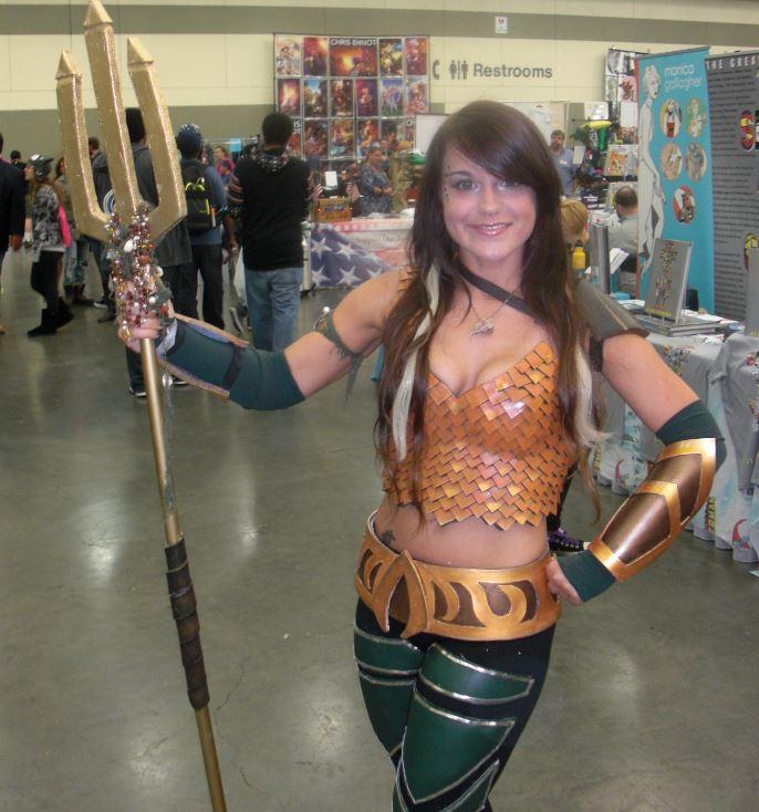 Der var en del cosplay, hvor dette var en af de bedre.