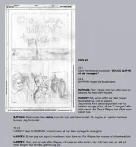 Batman Uglernes Domstol skitse