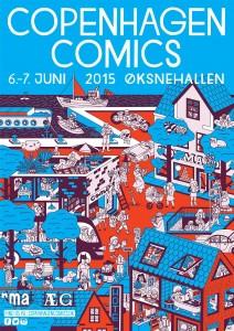 Copenhagen Comics 2015 @ Øksnehallen | København | Danmark