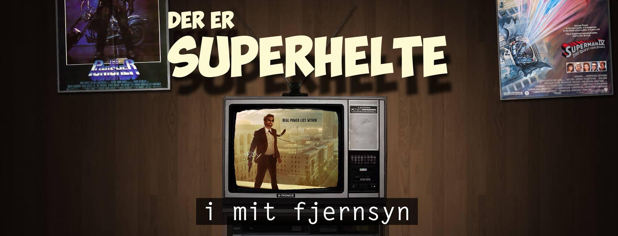 Der er Superhelte i mit fjernsyn - POWERS
