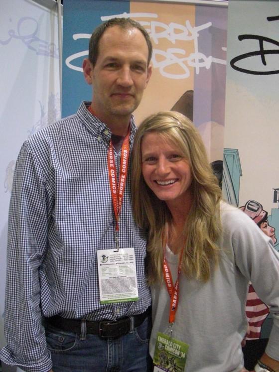 Ægteparret Terry & Rachel Dodson. Hans  første GN for et europæisk forlag Drømmespil udkom på dansk sidste år.