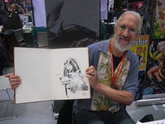 Jeg fik kun lavet en enkelt tegning i min sketchbog, men når den ene tegning så er tegnet af Steve Leialoha, så er en tegning helt fint!