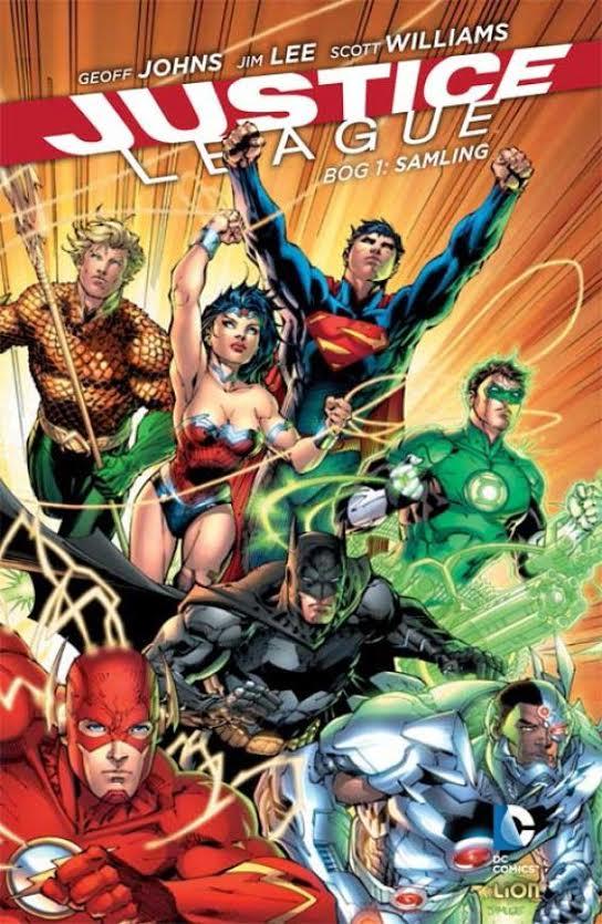 Justice League bog 1