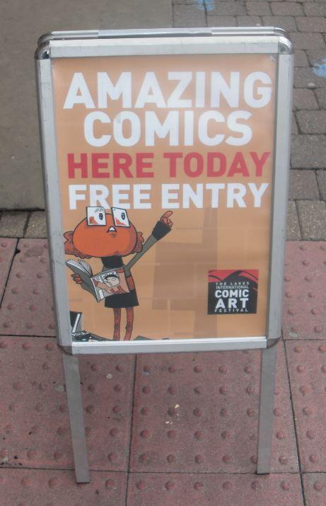 Det var virkelig gratis at komme ind!