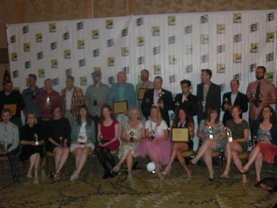 Dette års glade Eisner Award vindere.