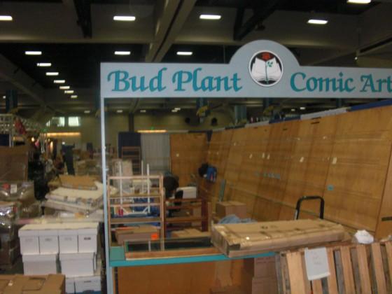 Bud Plants bod efter små 4 timers arbejde.