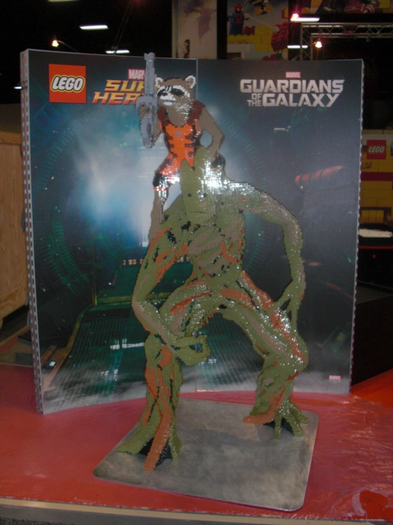 Guardians of the Galaxy havde også fundet vej til Lego boden.