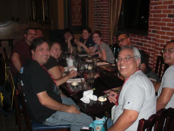 Min gruppe af faste onsdag aften middags venner. Tror det er 5-6 år vi har spist sammen. En god blanding af Lego fans og venner fra Australien.