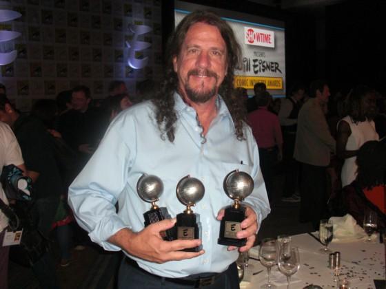 Dean Mullaney fik 3 velfortjente Eisner Awards.