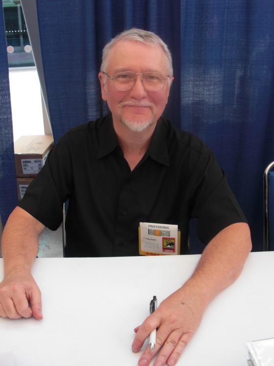 P. Craig Russell er en sjælden messe gæst, og det var første gang i 12 år han var i San Diego, hvor han bl.a. promoverede sin adaption af Neil Gaiman's Graveyard Book