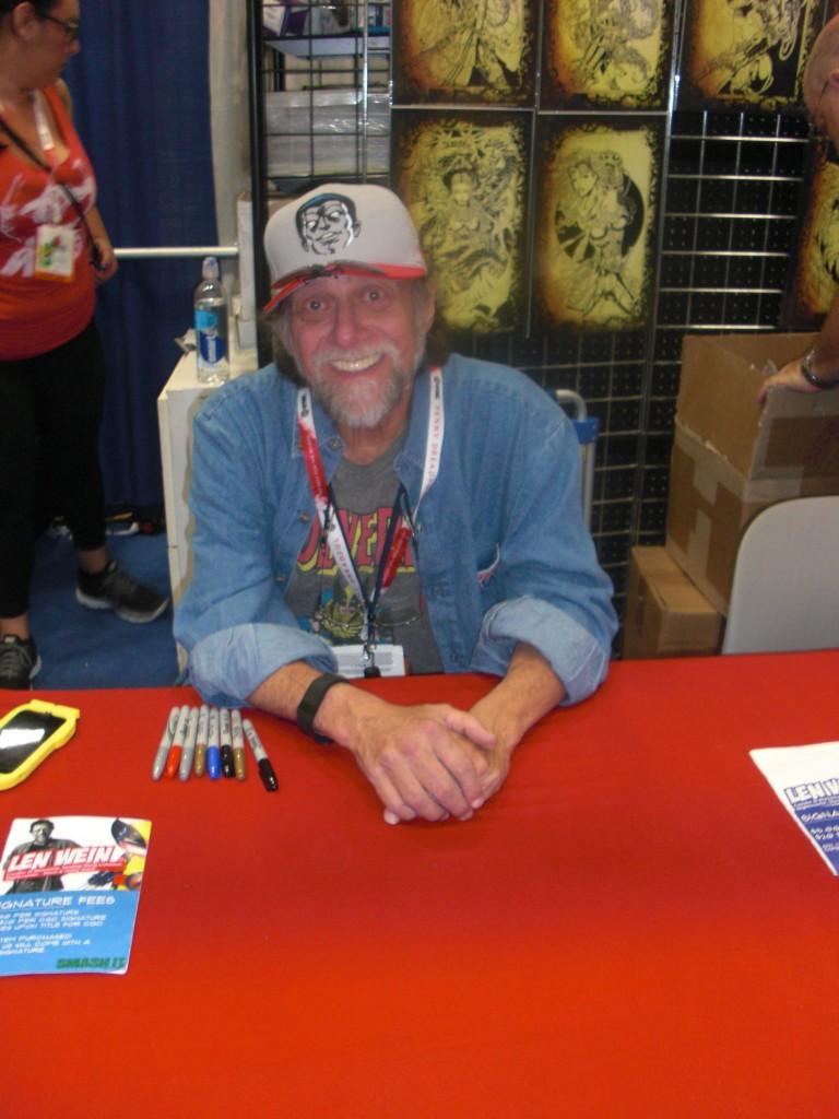 Len Wein, skaberen af Swampthing, Wolverine samt mange flere.