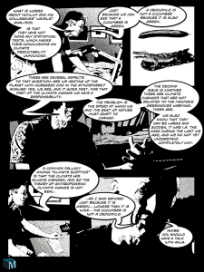 Supermoon ipad comic tegneserie side page