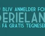 Bliv anmelder for Serieland!