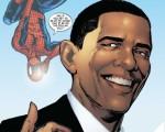 Præsident Obama sælger 350.000 eksemplarer af Spider-man!