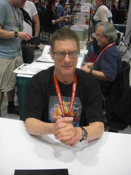 Forfatter Mike Baron, bl.a Nexus, der nu om dage bruger mere tid på at skrive bøger.