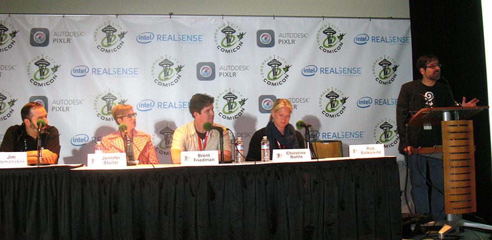 "Foredraget ""The Future of Fandom Conventions"" ledet af Rob Salkowitz"