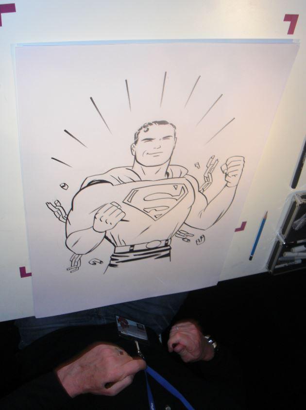 En af Darwyn Cookes tegninger fra The Big Comic Draw.
