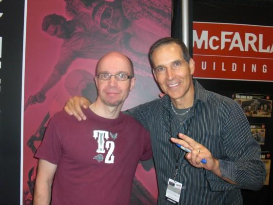Todd McFarlane havde sin egen bod på messen, hvor han hver dag signere for sine fans i et par timer.