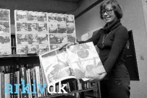 Tegneserier for voksne på Frederiksværk bibliotek